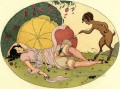 Les Delassements Sleeping 2 Gerda Wegener Erotic Adult